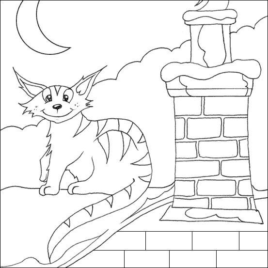 раскраска кошки коты и котята Toys House