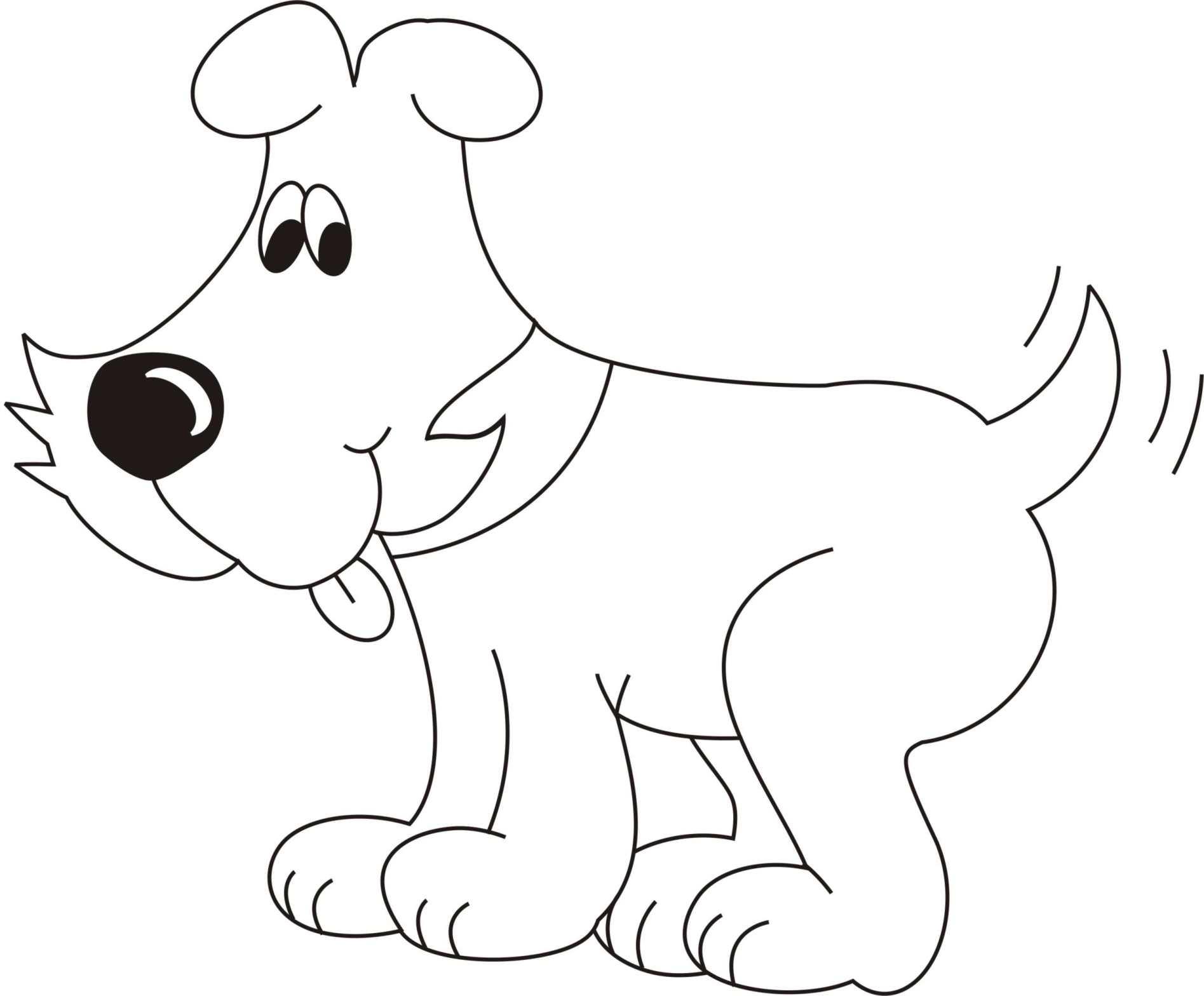Образец картинки собаки